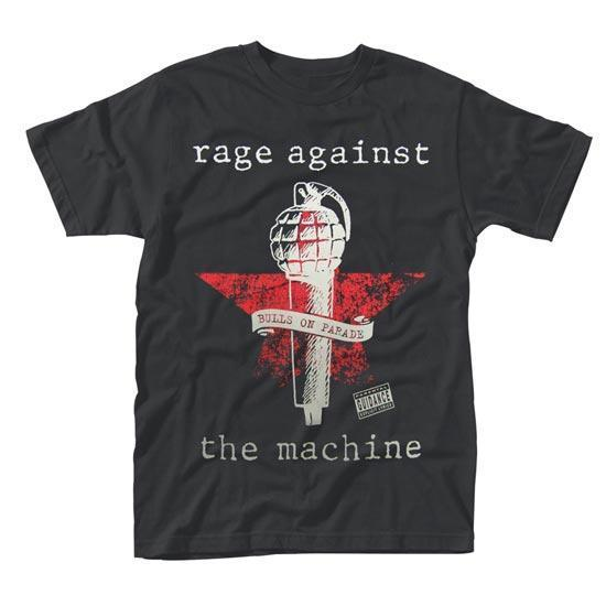 T-Shirt -  Rage Against Machine -  Bulls on Parade Mic
