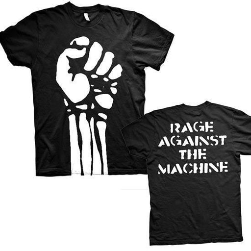 T-Shirt - Rage Against Machine - Fist - Jumbo Print-Metalomania