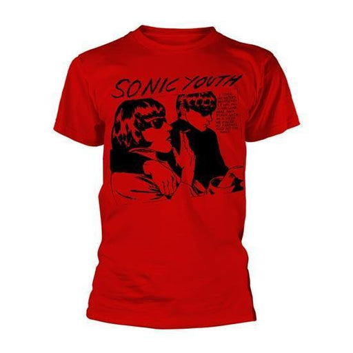 T-Shirt - Sonic Youth - Goo Album Cover - Red