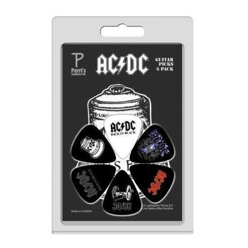 Guitar Picks - ACDC - 6 Pack Version 2-Metalomania