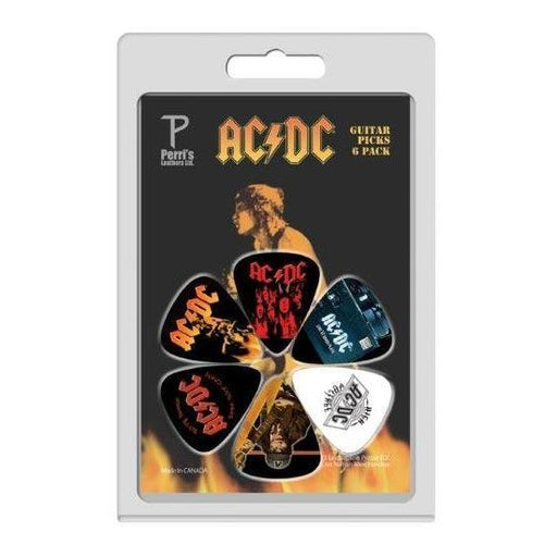 Guitar Picks - ACDC - 6 Pack Version 3-Metalomania
