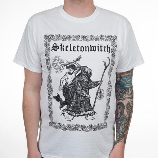 T-Shirt - Skeletonwitch - Heavy Burden - White-Metalomania