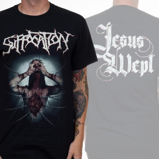 T-Shirt - Suffocation - Jesus Wept-Metalomania