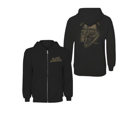 Hoodie - Black Sabbath - USA 78 Tour - Zip