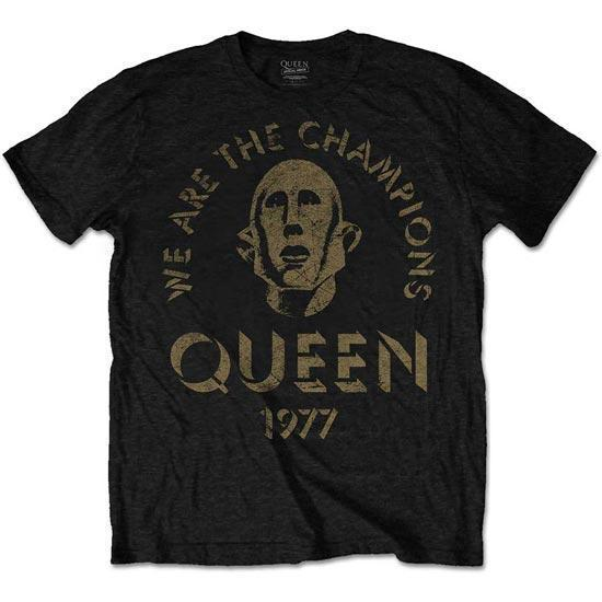 T-Shirt - Queen - We Are The Champions-Metalomania