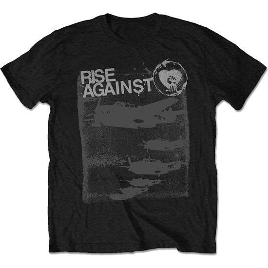 T-Shirt - Rise Against - Formation - Black-Metalomania