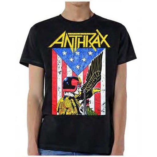 T-Shirt - Anthrax - Dredd Eagle-Metalomania