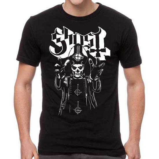 T-Shirt - Ghost - Papa Wrath-Metalomania