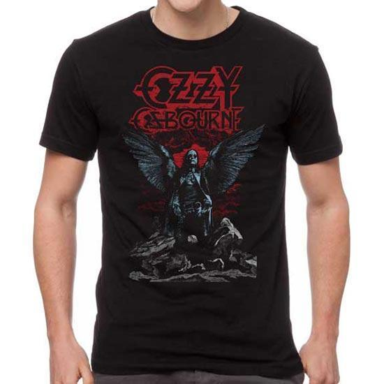 T-Shirt - Ozzy Osbourne - Angel Wings-Metalomania