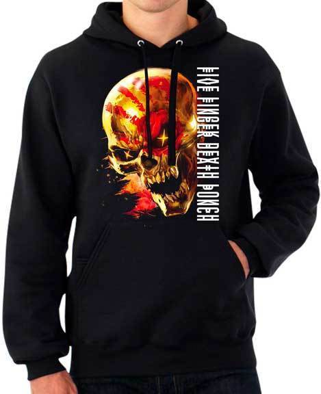 Hoodie - FFDP- Five Finger Death Punch - Justice for None -  Pullover