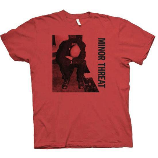 T-Shirt - Minor Threat - LP - Red-Metalomania