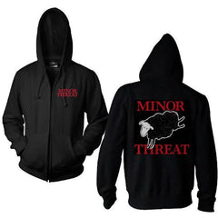 Hoodie - Minor Threat - Black Sheep - Zip