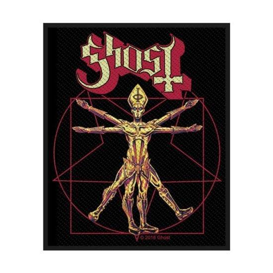 Patch - Ghost - The Vitruvian Ghost-Metalomania