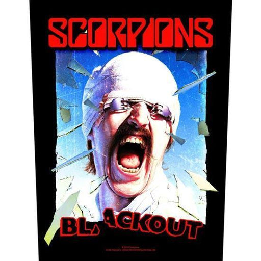 Back Patch - Scorpions - Blackout
