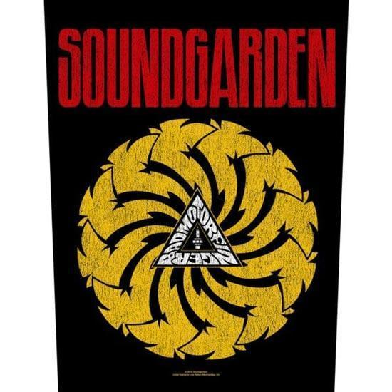 Back Patch - Soundgarden - Bad Motor Finger-Metalomania