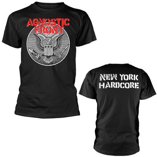 T-Shirt - Agnostic Front - Against All Eagle