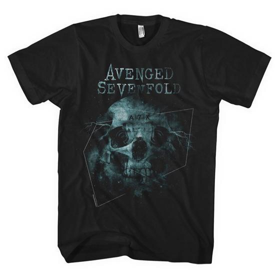 T-Shirt - Avenged Sevenfold - Galaxy (men)-Metalomania