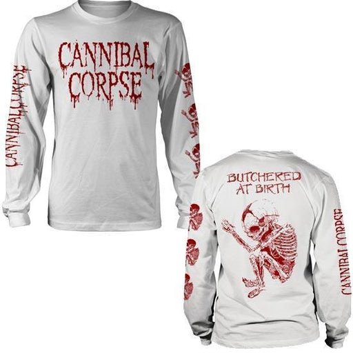 Long Sleeve - Cannibal Corpse - Butchered at Birth - White-Metalomania