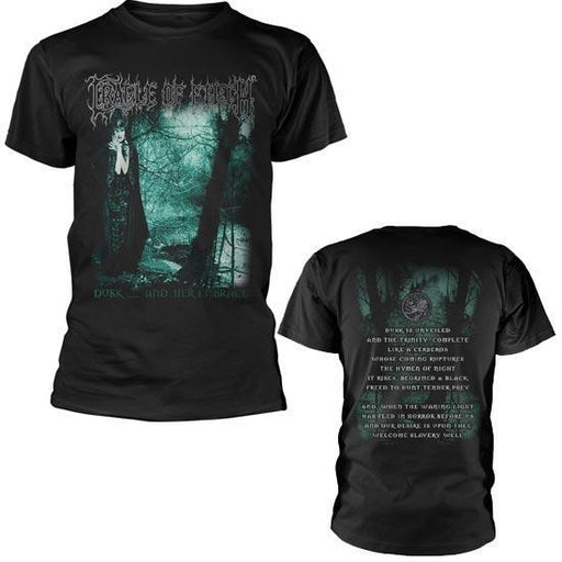 T-Shirt - Cradle of Filth - Dusk And Her Embrace-Metalomania