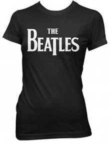 T-Shirt - Beatles - Solid Logo - Lady-Metalomania