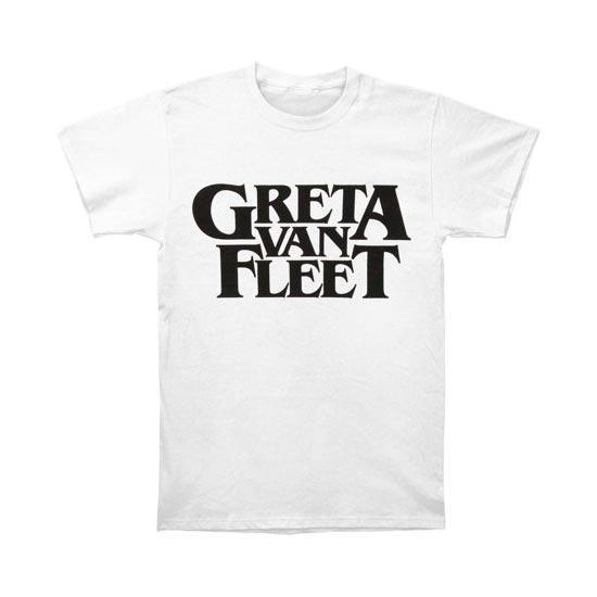 T-Shirt - Greta Van Fleet - Logo - White-Metalomania