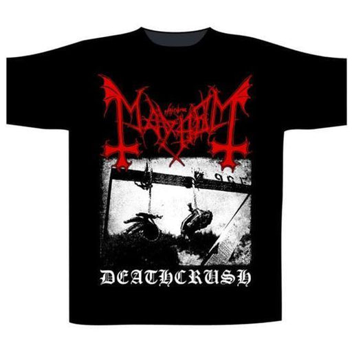 T-Shirt - Mayhem - Deathcrush - Black-Metalomania