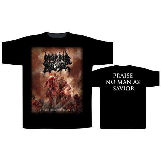T-Shirt - Morbid Angel - Kingdoms Disdained-Metalomania