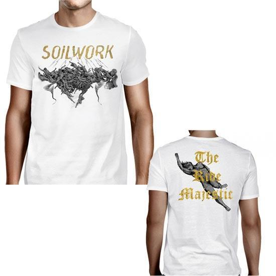 T-Shirt - Soilwork - The Ride Majestic - White-Metalomania