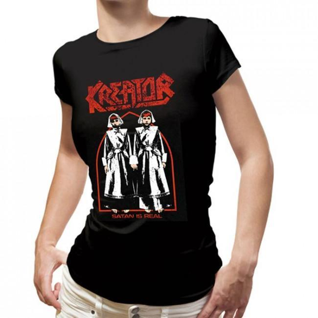 T-Shirt - Kreator- Satan is Real - Lady-Metalomania