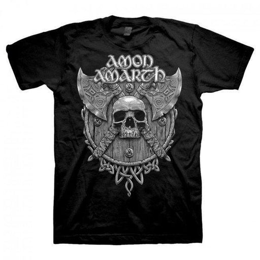 T-Shirt - Amon Amarth - Grey Skull - Front Print Only