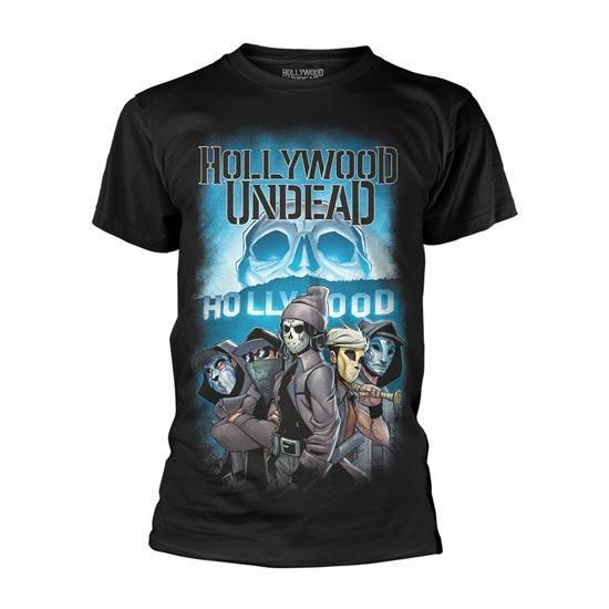 T-Shirt - Hollywood Undead - Crew-Metalomania