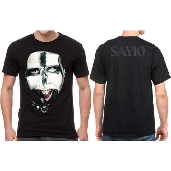 T-Shirt - Marilyn Manson - Kill for Me - Say10-Metalomania