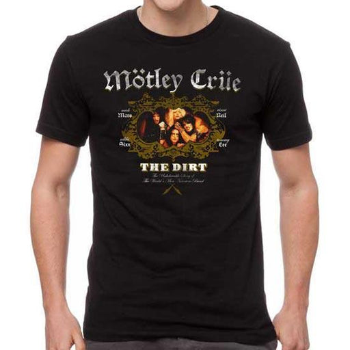T-Shirt - Motley Crue - The Dirt-Metalomania