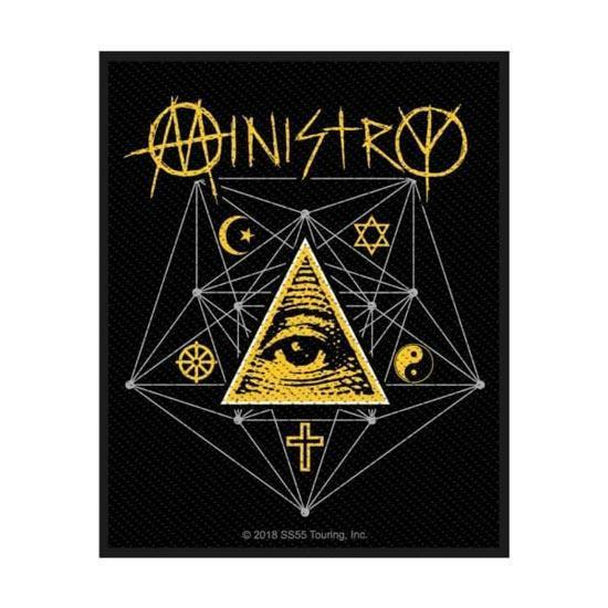 Patch - Ministry - All Seeing Eye-Metalomania