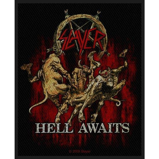 Patch - Slayer - Hell Awaits-Metalomania