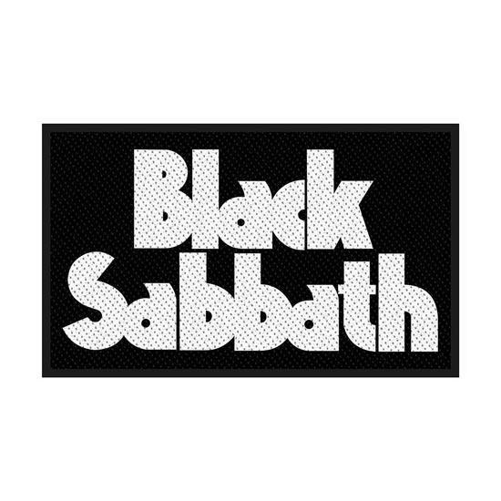 Patch - Black Sabbath - White Logo