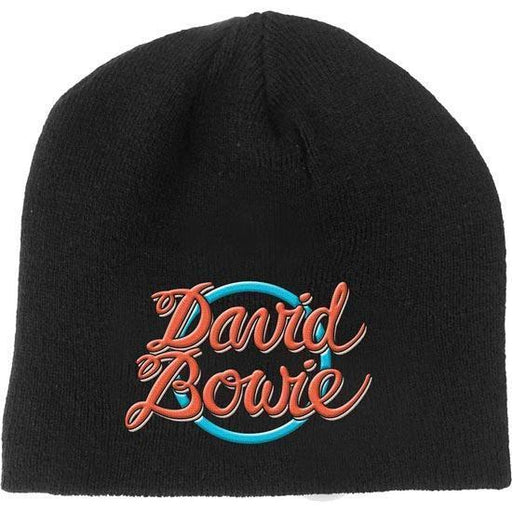 Beanie - David Bowie - 1978 World Tour Logo-Metalomania