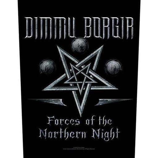 Back Patch - Dimmu Borgir - Forces of the Northern Night-Metalomania
