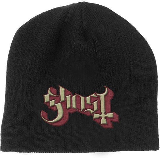 Beanie - Ghost - Red Logo