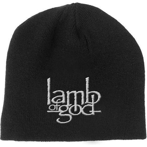 Beanie - Lamb of God - White Logo-Metalomania