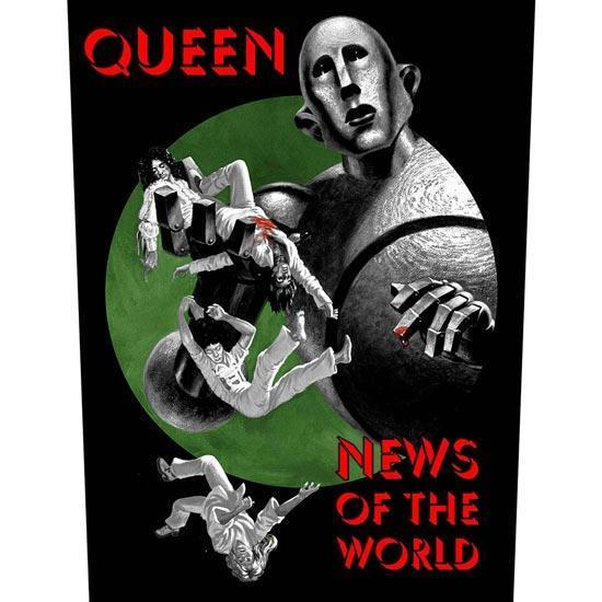 Back Patch - Queen - News of the World-Metalomania