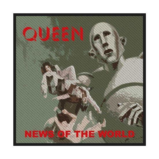 Patch - Queen - News of the World-Metalomania