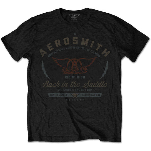 T-Shirt - Aerosmith - Back in the Saddle