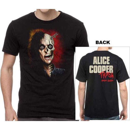 T-Shirt - Alice Cooper - Trashed Redux V2-Metalomania