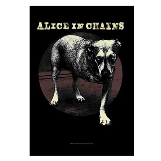 Flag - Alice in Chain - Grin-Metalomania