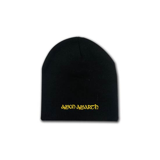 Beanie - Amon Amarth - Yellow Logo-Metalomania