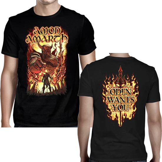 T-Shirt - Amon Amarth - Oden Wants You-Metalomania