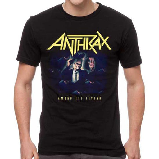 T-Shirt - Anthrax - Among the Living - Color-Metalomania