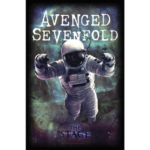 Deluxe Flag - Avenged Sevenfold - The Stage-Metalomania