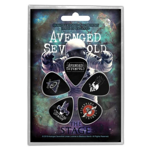 Guitar Picks - Avenged Sevenfold - The Stage